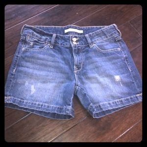 Women's 3-inch Distressed Jean Shorts!